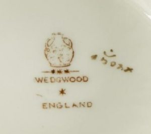 Wedgwood dating